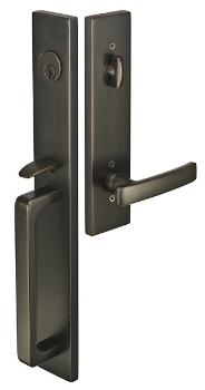 lausanne poign es de portes ext rieures et accessoires clenches d 39 entr e contemporaines. Black Bedroom Furniture Sets. Home Design Ideas