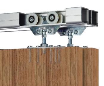 C 538 rails de portes coulissantes quincaillerie hors for Verrou pour fenetre